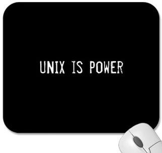 Unix is power