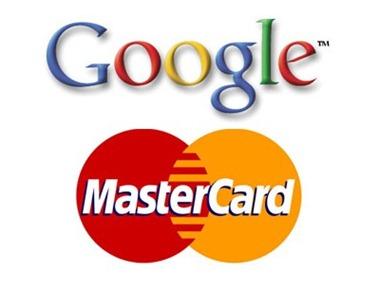 Google y master card